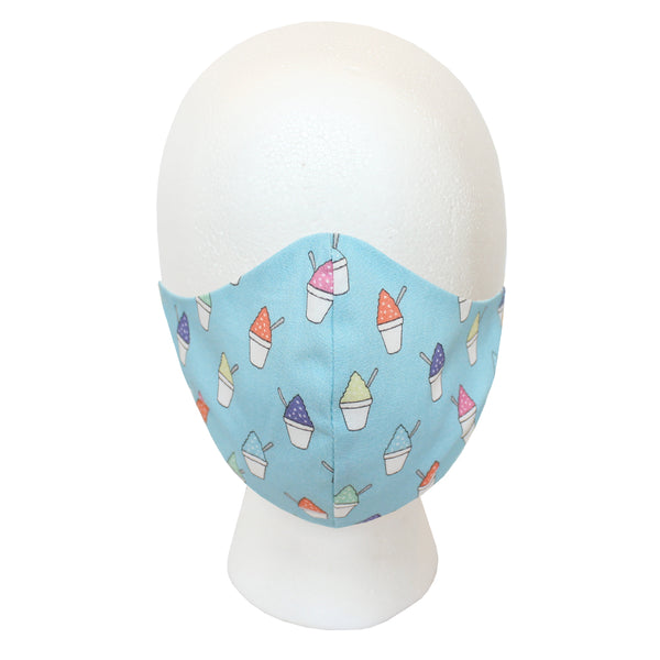 Sea Breeze Blue Snoball Civilian Mask