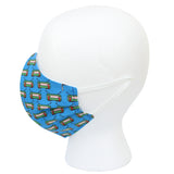 Bay Blue Streetcars Civilian Mask