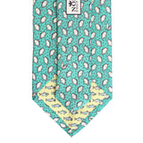 Sea Breeze Blue Mini Gulf Oyster Tie