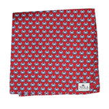 Boiled Crab Pocket Square