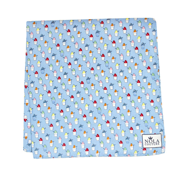 Snoball Pocket Square