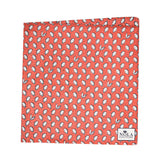 Mini Gulf Oysters Pocket Square