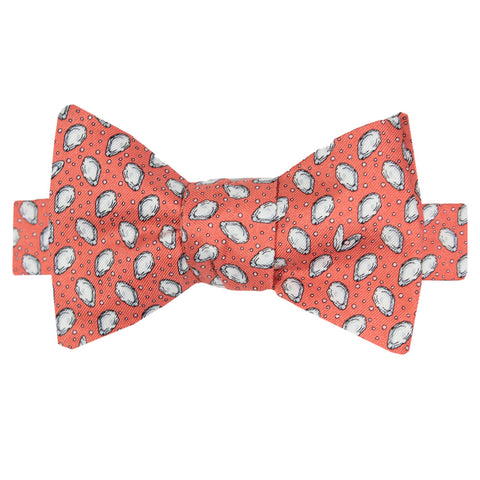 Étouffée Orange Boys' Mini Gulf Oysters Bow Tie