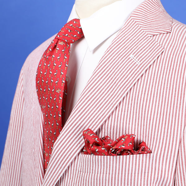 NOLA Couture x Haspel Pelican Pocket Square
