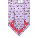 Ash Wednesday Lavender Boys' Second Line Tie