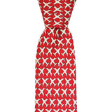 Cayenne Red MSY Airplanes Skinny Tie