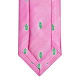 Snoball Woven Extra Long Silk Tie