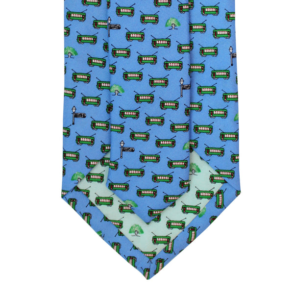 Bay Blue Boys' Streetcar Tie