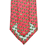 Raspberry Red Boys' Streetcar Tie