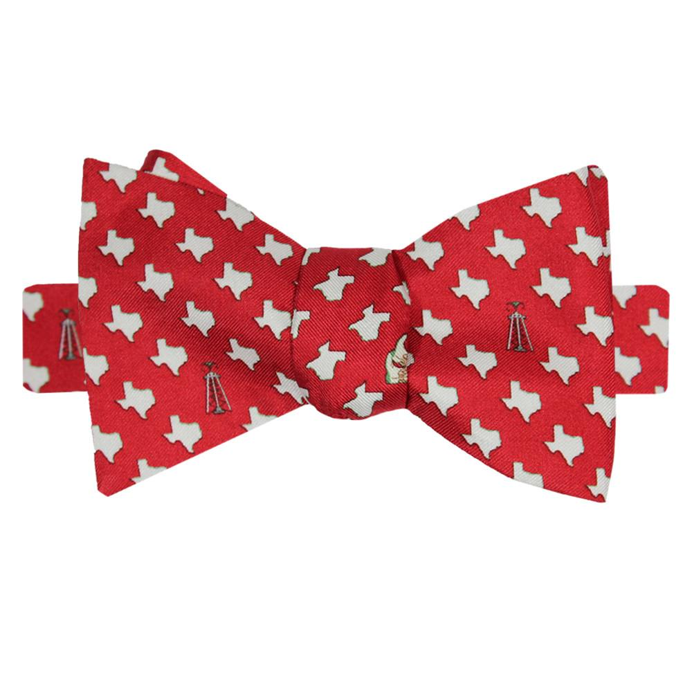 Cayenne Red Texas Bow Tie