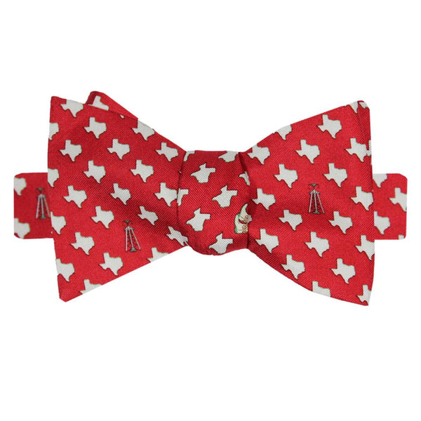 Cayenne Red Boys' Texas Bow Tie