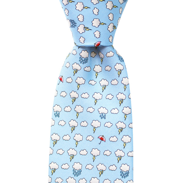 Thunderstorm Extra Long Tie