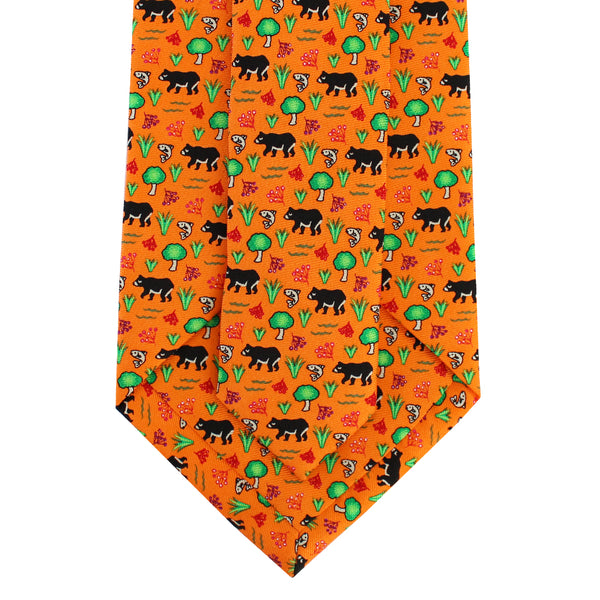 Boys' Black Bear Tie