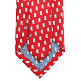 Cayenne Red Mississippi Extra Long Tie