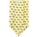 King Cake Yellow LSU Eye of the Tiger Extra Long Tie