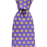 King Cake Extra Long Tie