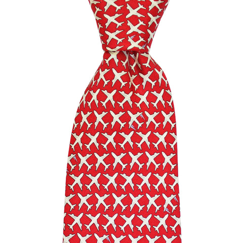 Boys' MSY Airplanes Tie