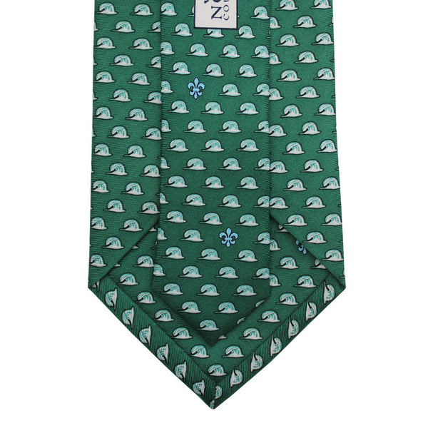 Green Wave Extra Long Tie