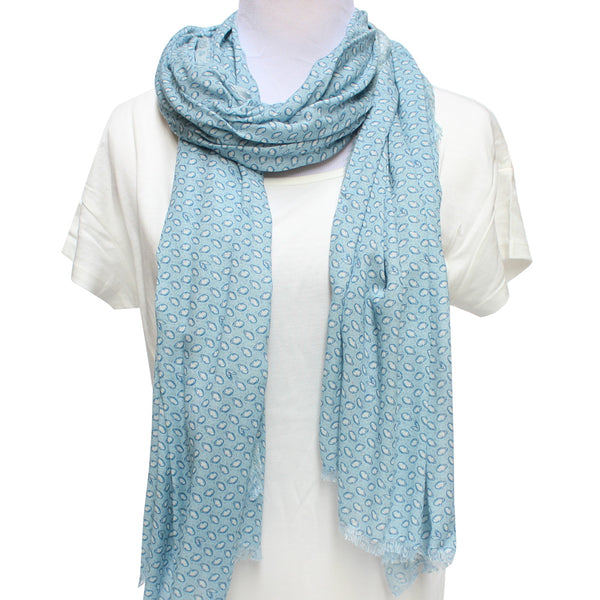 Cashmere Blend Oyster Scarf