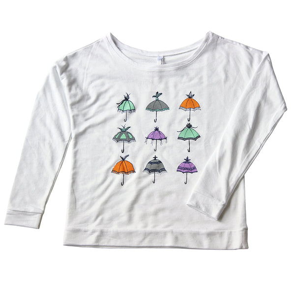 Parasols Graphic Sweater