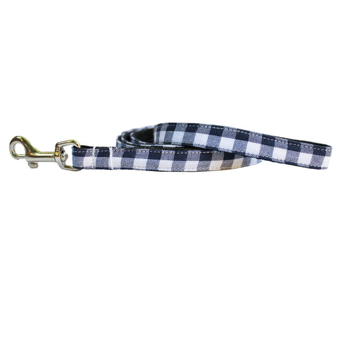 Extra Small Gingham Dog Leash