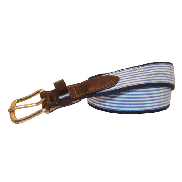 Boys' Seersucker Club Belt