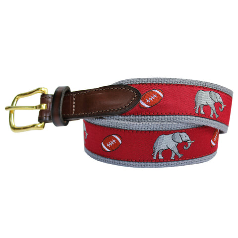 Red Boys' Elephant Club Belt