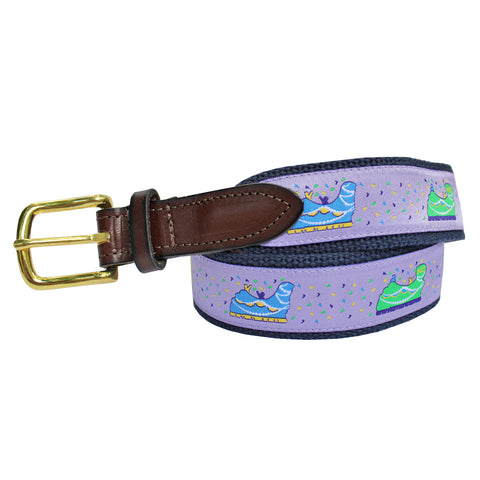 Ash Wednesday Lavender Boys' Mardi Gras Floats Club Belt