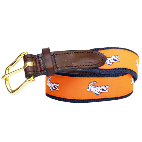 Citrus Orange Boys' NOLAgator Club Belt