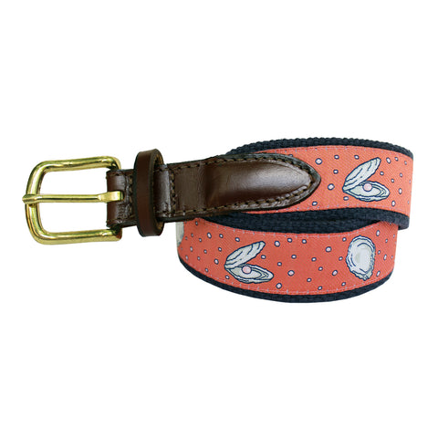 Étouffée Orange Boys' Gulf Oyster Club Belt