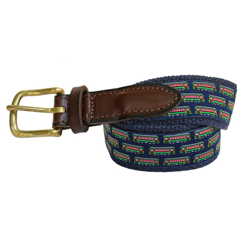 Midnight Navy Boys' Streetcar Club Belt