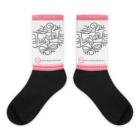 Black foot socks-Tuesday