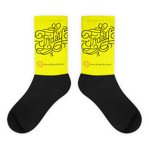Black foot socks-Friday