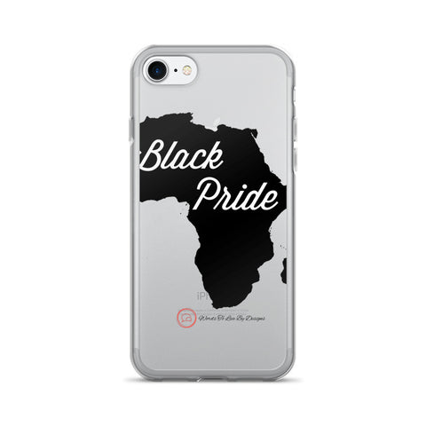 iPhone 7/7 Plus Case-Black Pride