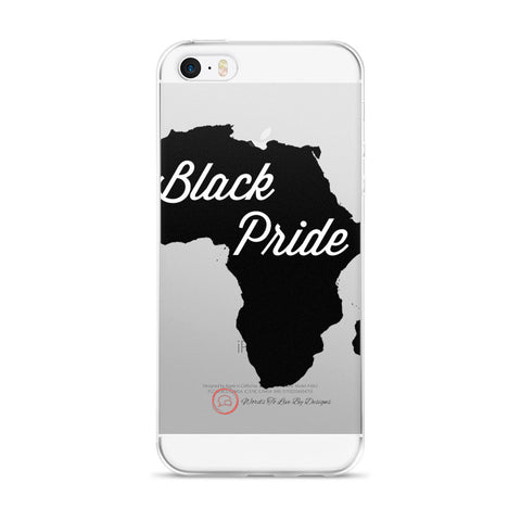 iPhone 5/5s/Se, 6/6s, 6/6s Plus Case-Black Pride