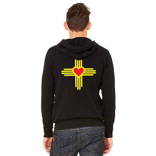 New Mexico Love Zia Full-Zip Hoodie