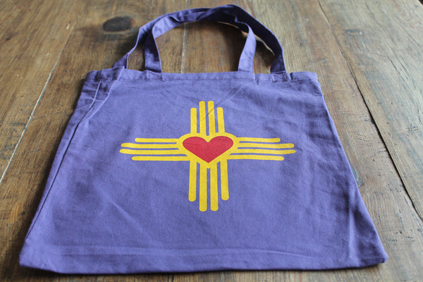 New Mexico Love Canvas Tote