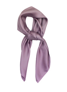 Lilac Purple Scarf Thin Silky Womens Summer Spring