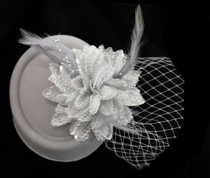 The Pill Box Flower with Veil