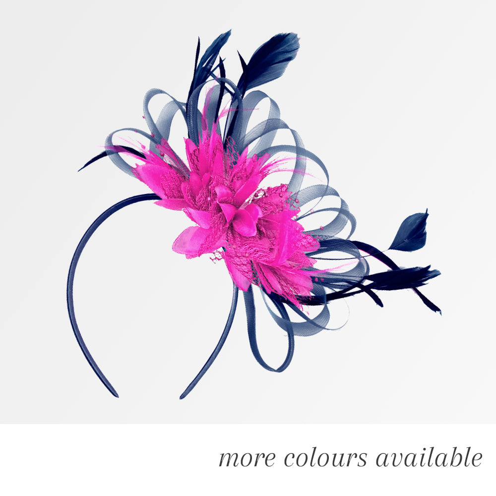 Hoop Mix - Bespoke Mixed Colour Headband Fascinator c504264c7b3