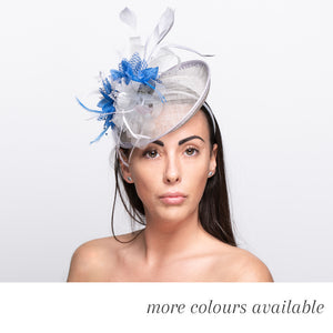 The Sinamay Mix - Bespoke Mixed Colour Fascinator