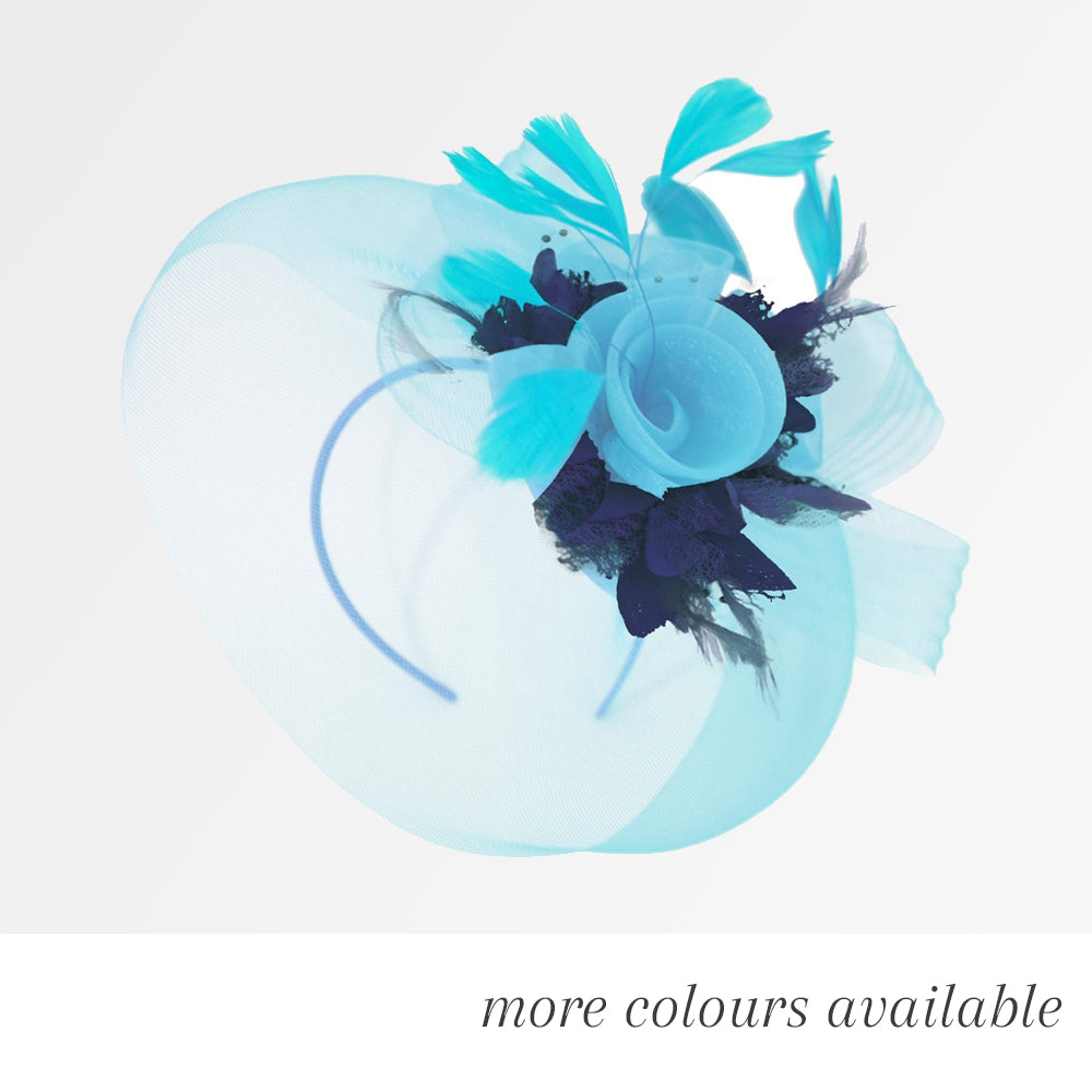 The Pop Hat Mix - Bespoke Mixed Colour Fascinator Hatinator