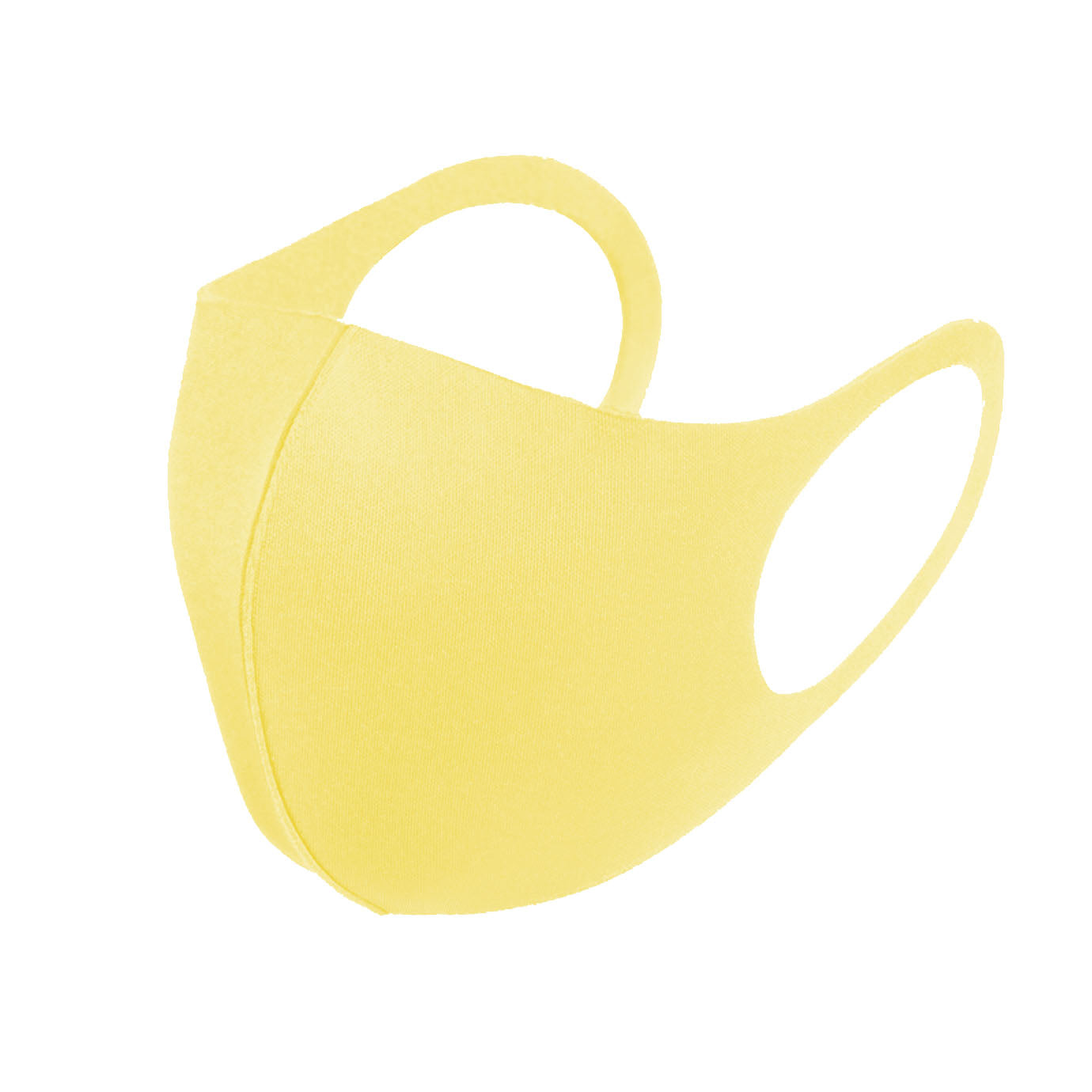 3 Pack Yellow Lemon Reusable Fabric Face Masks Covering Washable Adult Size