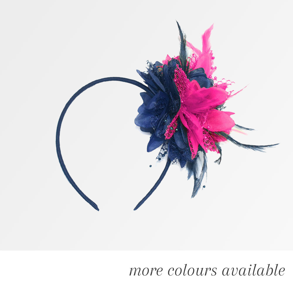 The Flower Mix Fascinator