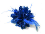 Royal Blue fascinator UK Online shop for weddings