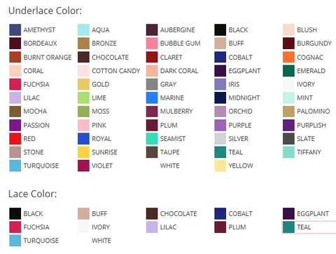 Color Chart Style 60282