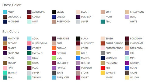 Color Chart 80284