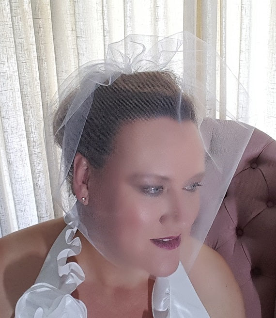 Birdcage Tulle Wedding Veil