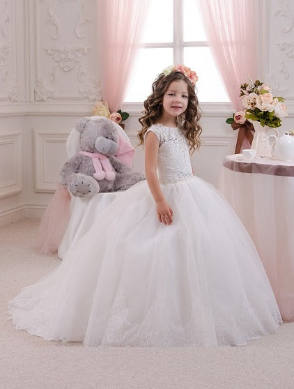Ashley Flower Girl Dress