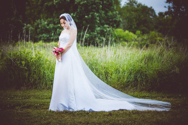 Cathedral Length Illusion Tulle Wedding Veil